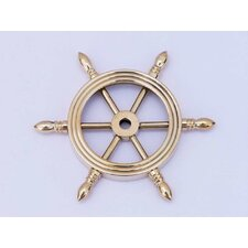 Ship Wheel Paperweight