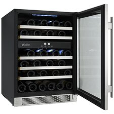 46 Bottle Dual Zone Wine Cooler