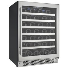 54 Bottle Single Zone Wine Cooler