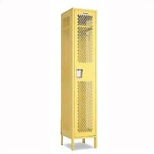 Invincible II Single Tier 1 Wide Locker (Assembled)