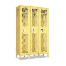 Invincible II Single Tier 3 Wide Locker (Unassembled)