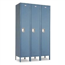 Vanguard Single Tier 3 Wide Locker (Unassembled)