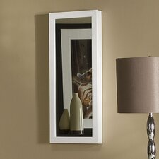 Space-Saving Over-the-Door/Wall Hang Mirrored Jewelry Armoire