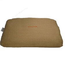 Rectangular Pet Bed Cover and Mattress Set in Burlap