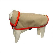 Rainproof Cordura Dog Jacket in Khaki