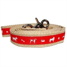 Vintage Jute Dog Leash