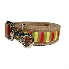 Mod-Stripe Cotton Dog Leash
