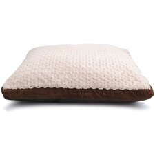 Gussetted Faux Fur Pet Bed