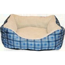 Plush Box Pet Bed