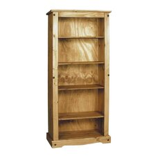 Aztec Mexican Pine Open Bookcase