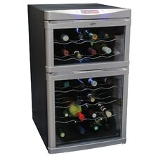 24-Bottle Dual Zone Wine Refrigerator