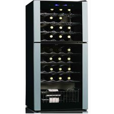 45-Bottle Dual Zone Wine Refrigerator