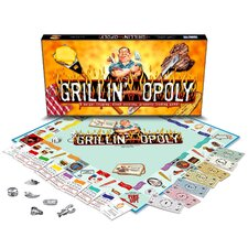 Grillin'-opoly Board Game