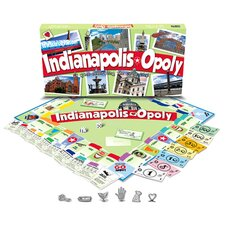 Indianapolis-Opoly Board Game