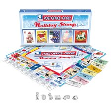 Post Office-Opoly Holiday Stamps Edition Board Game