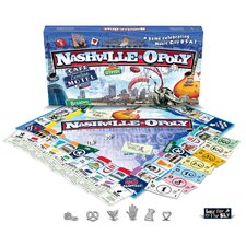 Nashville-Opoly Board Game