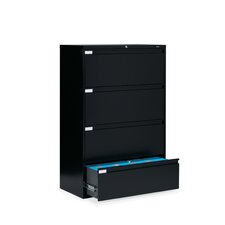 "42"" W Four-Drawer Lateral File"