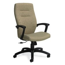 Synopsis High-Back Office Chair with Fixed Back
