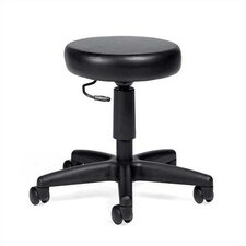 Height Adjustable Swivel Stool with Dual Caster