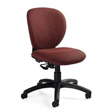 Low-Back Leather Posture Task Chair