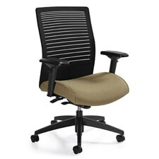 Medium Back Mesh Chair with Weight Sensing Synchro-Tilter