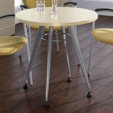 Round Top Laminate Meeting Table