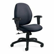Graham Low-Back Pneumatic Ergo-Tilter Office Chair