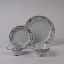 Brasserie 4 PC Dinnerware Set