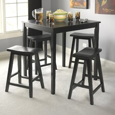 Belfast 5 Piece Counter Height Dining Set