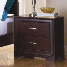 Hendrick 2 Drawer Nightstand