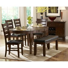 Ameillia 6 Piece Dining Set