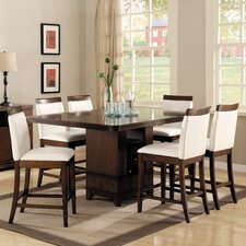 Elmhurst 7 Piece Counter Height Dining Set