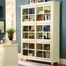 8891 Series Stackable Bookcase Top Crown in White