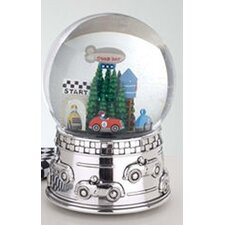"Children's Giftware 6.5"" Race Car Waterglobe"