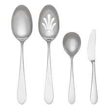 Stainless Flatware 4 Piece Soho Hostess Set