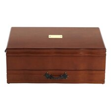 Provincial Flatware Chest in Cherry/Brown