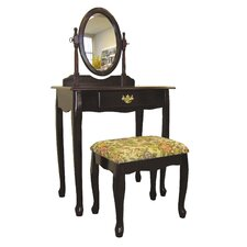 3 Piece Vanity Set in Cherry