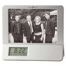 Newton Photo Frame Table Top Clock