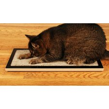 Lo Floor Wood Cat Scratcher