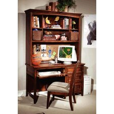 American Spirit Computer Desk Hutch