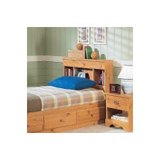 Mountain Pine Bookcase Headboard