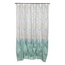 Abu Dhabi Jasmin Cotton Shower Curtain