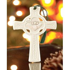 Claddagh Celtic Cross Christmas Ornament