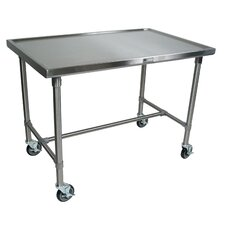 Cucina Americana Mariner Prep Table with Stainless Steel Top