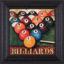 Billiards Wall Art