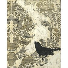 Damask Songbird I Wall Art