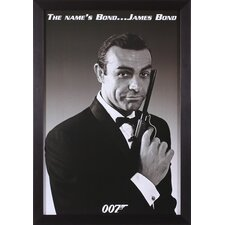 James Bond - The Name's Bond Wall Art
