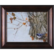 Late Snow Warbler Wall Art