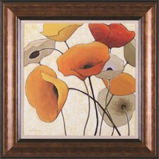 Pumpkin Poppies III Wall Art