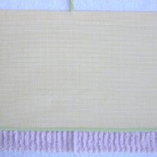 Froggy Lavender Cotton Blend Tab Top Tailored Curtain Valance